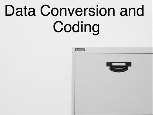 Data Coding and Conversion