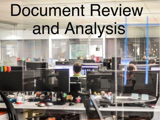 Document Review and Analysis